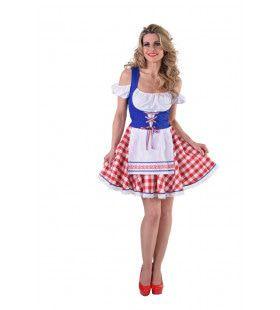 Hollands Bierfeest Klederdracht Vrouw Kostuum