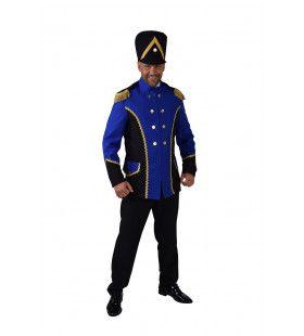 Jas Drumband Harmonie Blauw Man Kostuum