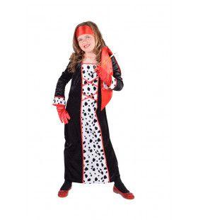 Dol Op Dalmatiers Vampier Meisje Kostuum