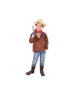 Cowboy Hemd Spaghetti Western Jongen