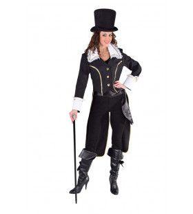 Mantel Admiraal Nelson Zware Zeeslag Zwart Vrouw