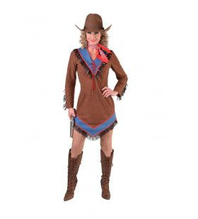 Cinderella Hot Colt Cowgirl Vrouw Kostuum