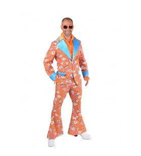 Jaren 60 Paisley Hippie Man Kostuum