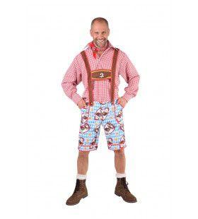 Beierse Lederhosen Munchen Bierkelder Man