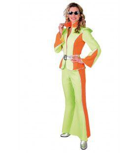 Boney M Disco Jaren 70 Met Pantalon Vrouw Kostuum