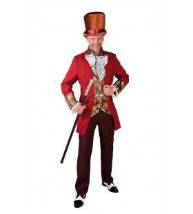 Gefortuneerde Heer Parijs 19e Eeuw Man Kostuum