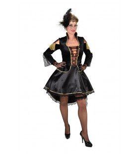Moulin Rouge Steampunk Showgirl Vrouw Kostuum
