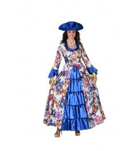 Markiezin Du Butterfly Vlinder Vrouw Kostuum