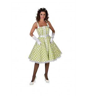 Jaren 50 Rock And Roll High School Vrouw Kostuum