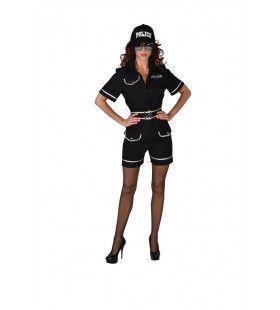 Zomer Tenue Agente Vrouw Kostuum
