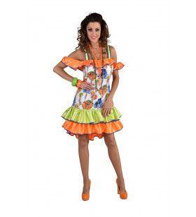 Sally Samba Rio Carnaval Vrouw Kostuum