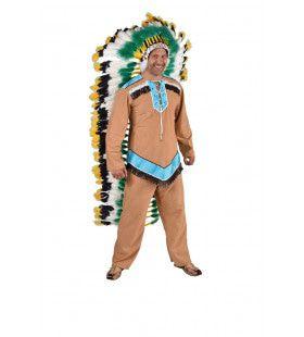 Apache Indiaan New Mexico Man Kostuum