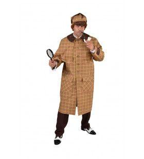 Super Detective Speurneus Sherlock Man Kostuum