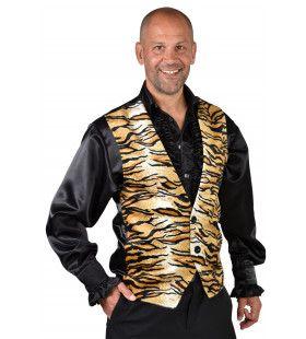 Wilde Tiger King Gilet Man