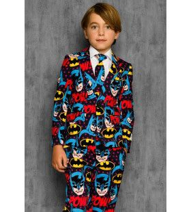 The Dark Knight Comics Batman Strip Jongen Kostuum