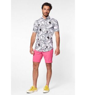 Whats Up Doc Bugs Bunny Blouse Zwart Wit Man