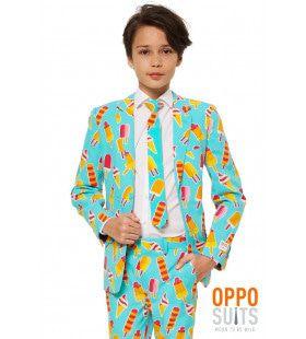 Ola La Zomerse IJsjes Tiener Jongen Kostuum