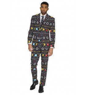 Winter Pac-Man Computerspel Kostuum