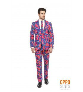 Psychedelic The Fresh Prince Opposuit Man Kostuum
