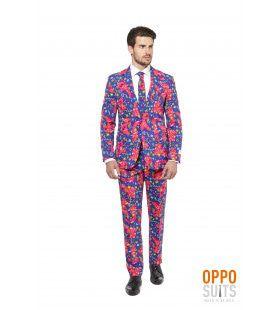 Psychedelic The Fresh Prince Opposuit Man Kostuum