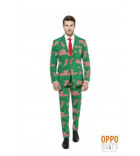 Merry Christmas Happy Holidude Opposuit Man Kostuum