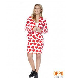 Hartendief Queen Of Hearts Opposuit Vrouw Kostuum