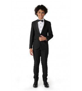 Gala Jet Set Glam Zwart Opposuit Jongen Kostuum