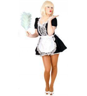 Tout Alors Francais Sexy Serveerster Vrouw Kostuum