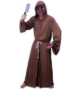 Horror Monnik Habijt Man Kostuum