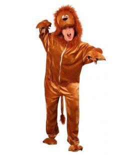 Laika De Leeuw Overall Pluche Kostuum