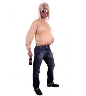 Bierbuik Shirt Met Mouwen Stof Man