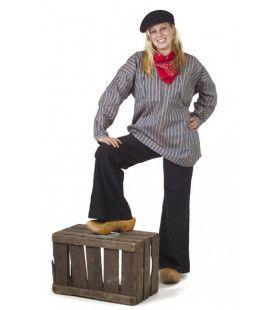 Antiek Boerenkiel Keper Vrouw Kostuum