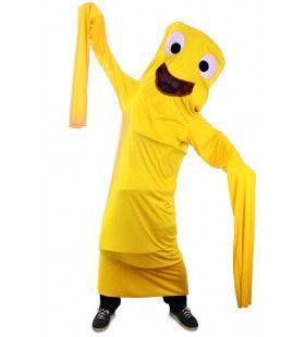 Grappig Windsock Kostuum Geel