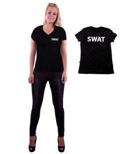 Zwart Swat T-Shirt