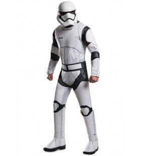 Witte Stormtrooper Deluxe Man Kostuum