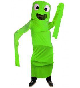 Grappig Windsock Kostuum Groen