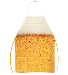 Schort Bier Goud Gele Rakker