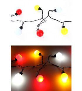 Verlichtingssnoer 20 Lampjes Diameter 4 Centimeter