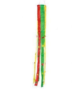 Windsock Rood Geel Groen Bol Met Sterretjes