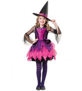 Barbie Heks Halloween Meisje Kostuum