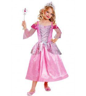 Verkleedset Prinses 3 Delig Meisje Kostuum