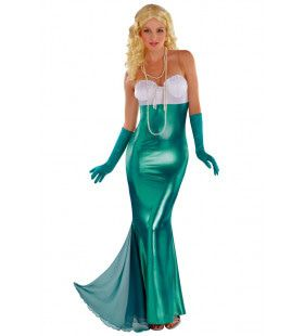 Bekoorlijke Zeemeermin Zuidzee Vrouw Kostuum