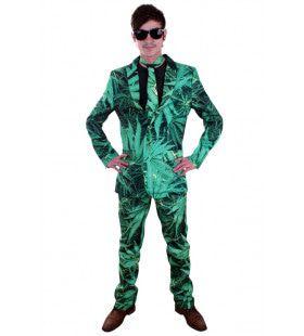 Nederwiet Belinfante Cannabis Man Kostuum