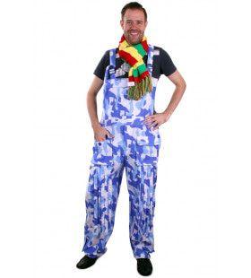 Marine Camouflage Tuinbroek Met Linten Kostuum