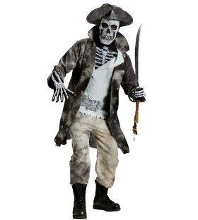 Jack Rammelshack Zombie Piraat Man Kostuum