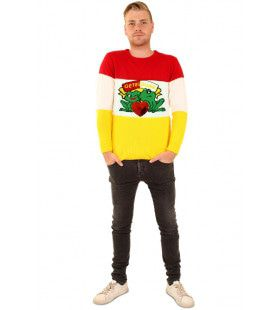 Sweater Oeteldonk Carnaval Brede Strepen