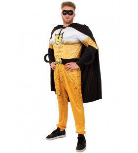 Superheld Bierman Kostuum