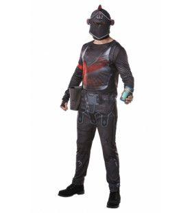Black Knight Fortnite Video Game Man Kostuum