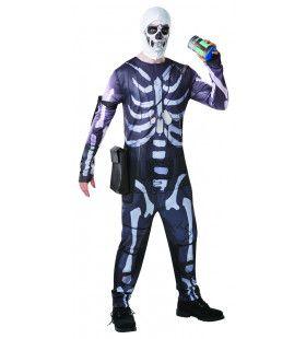 Fortnite Kull Trooper Computer Game Man Kostuum