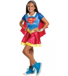 Onverslaanbare Supergirl Nicht Van Superman Meisje Kostuum